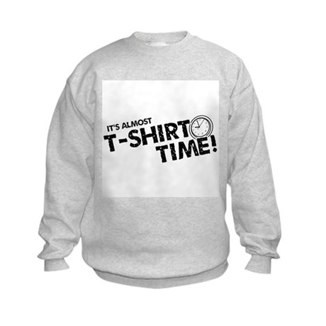 T-Shirt Time Kids Sweatshirt