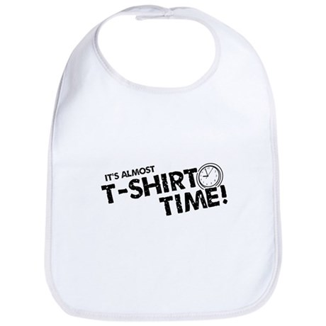 T-Shirt Time Bib