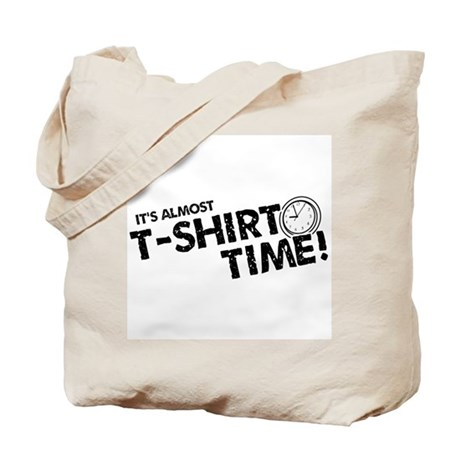T-Shirt Time Tote Bag