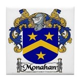 Monahan Coat of Arms Tile Coaster