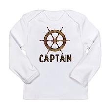 Captain Long Sleeve Infant T-Shirt