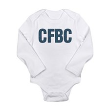 CFBC Blue Logo Long Sleeve Infant Bodysuit