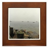MISTY MOORING Framed Tile