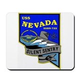 USS Nevada SSBN 733 Mousepad