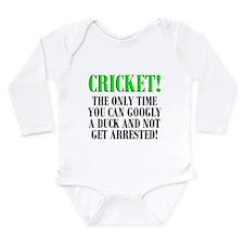 Cricket Onesie Romper Suit