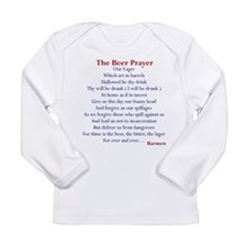 Beer Prayer Long Sleeve Infant T-Shirt