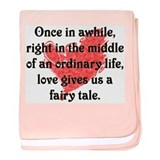 Fairy Tale Love Infant Blanket