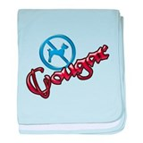 No Dogs, Cougar Town Infant Blanket