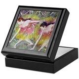 Degas Ballet Dancers Keepsake Box