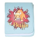 Bulls Team Infant Blanket