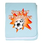 Soccer Grandma Infant Blanket