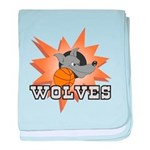 Wolves Basketball Team Infant Blanket