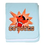 Coyotes Football Team Infant Blanket