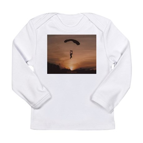 Sunset Skydiver Long Sleeve Infant T-Shirt