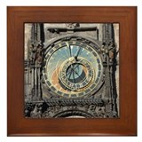 Astronomical Clock Framed Tile