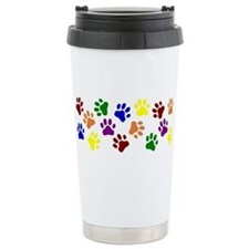 Pawprints Ceramic Travel Mug