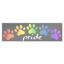 Furry Pride Bumper Sticker