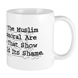 Mohammed Cartoon Small 11oz Mug