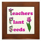 Cute Seeds Framed Tile