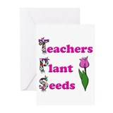Funny Teacher appreciation Greeting Cards (Pk of 10)