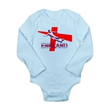 England Soccer Football 2010 Long Sleeve Infant Bo