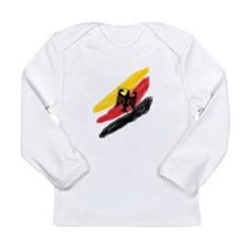 Germany Soccer Fussball SV de Long Sleeve Infant T