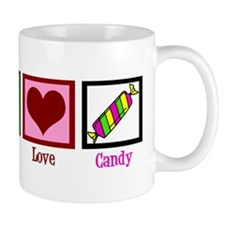 Peace Love Candy Mug
