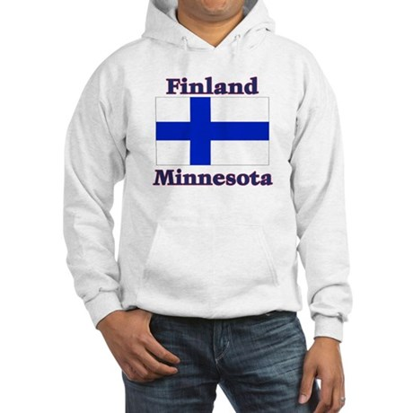 Finland Minnesota Hooded Sweatshirt