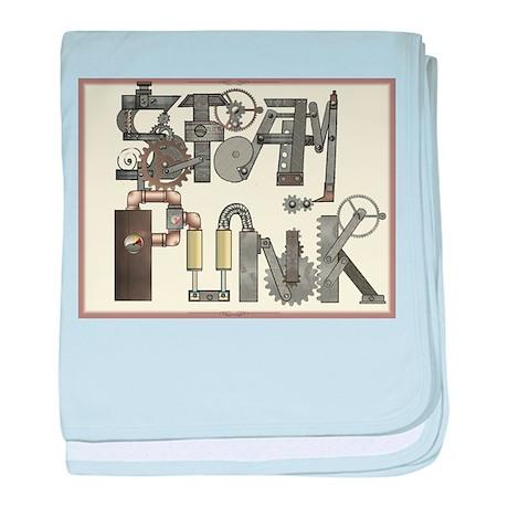 SteamPunk Infant Blanket