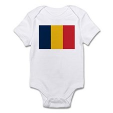 Chad Flag Infant Creeper