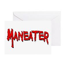 Maneater Greeting Card
