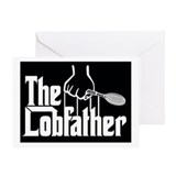 Lobfather - Tennis Greeting Card