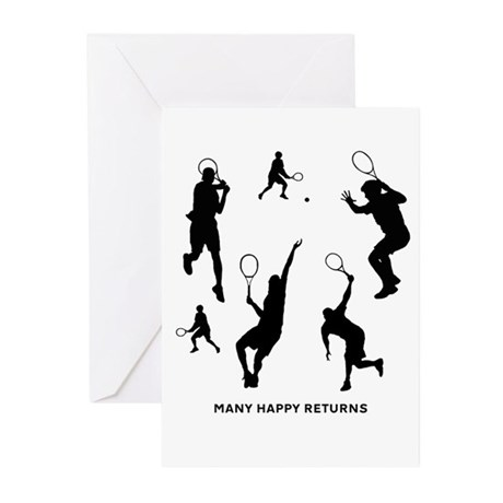 Many Happy Returns - Greeting Cards (Pk of 10)