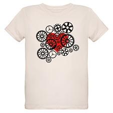 Steampunk Heart T-Shirt