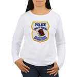 Bedford Mass Police Women's Long Sleeve T-Shirt