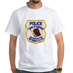 Bedford Mass Police White T-Shirt