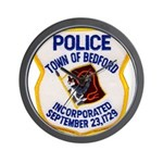 Bedford Mass Police Wall Clock