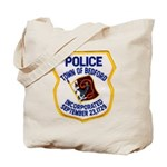 Bedford Mass Police Tote Bag