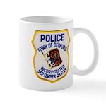 Bedford Mass Police Mug