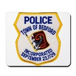 Bedford Mass Police Mousepad