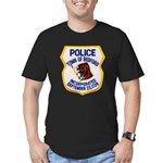 Bedford Mass Police Men's Fitted T-Shirt (dark)