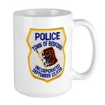 Bedford Mass Police Large Mug