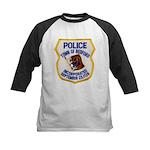 Bedford Mass Police Kids Baseball Jersey