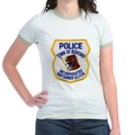 Bedford Mass Police Jr. Ringer T-Shirt