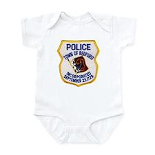 Bedford Mass Police Infant Bodysuit