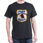 Bedford Mass Police Dark T-Shirt