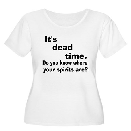 Paranormal Dead Time Design Women's Plus Size Scoo