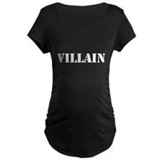 Villain Maternity Dark T-Shirt