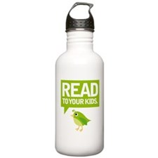 Cute Read To Your Kids Water Bottle