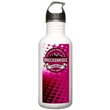 Breckenridge Raspberry Water Bottle